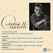 Ravel: Pavane pour une infante défunte - Debussy: Prélude à l'après-midi d'un faune - Dukas: L'apprenti sorcier von Guido Cantelli