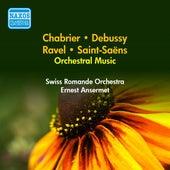 Orchestral Music - Saint-Saens, C. / Chabrier, E. / Ravel, M. / Debussy, C. (Ansermet) (1951-1952) de Ernest Ansermet