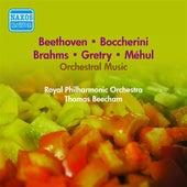 Orchestral Music - Mehul, E.-N. / Gretry, A.-E.-M. / Boccherini, L. / Beethoven, L. / Brahms, J. (Beecham) (1953) by Thomas Beecham