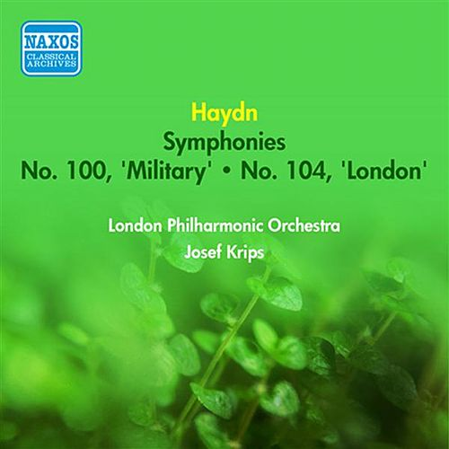 Haydn, J.: Symphonies Nos. 100, 'Military' and 104, 'London' (Krips) (1952) by Josef Krips