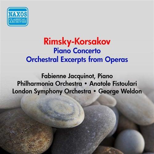 Rimsky-Korsakov, N.: Piano Concerto / Opera Excerpts (Jacquinot, Fistoulari, Weldon) (1952-1953) by Various Artists