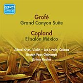 Grofe, F.: Grand Canyon Suite / Copland, A.: El Salon Mexico (Fiedler) (1955) von Various Artists