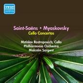 Saint-Saens, C.: Cello Concerto No. 1 / Myaskovsky, N.: Cello Concerto (Rostropovich) (1956) de Mstislav Rostropovich