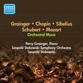 Orchestral Music - Grainger, P. / Chopin, F. / Sibelius, J. / Schubert, F. / Mozart, W.A. (Stokowski) (1949-1950) de Various Artists