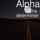 determiner de Alpha