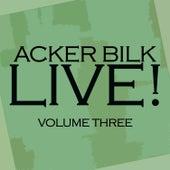 Live! Vol. 3 de Acker Bilk