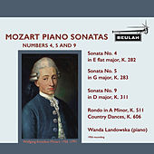 Mozart Piano Sonatas Nos. 4, 5 and 9 - Wanda Landowska by Wanda Landowska