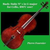Bach: Suite N° 1 in G major for Cello, BWV 1007 von Pierre Fournier
