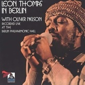 Live In Berlin by Leon Thomas