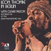Live In Berlin de Leon Thomas
