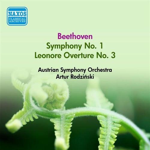 Beethoven, L. Van: Symphony No. 1 / Leonore Overture No. 3 (Austrian Symphony, Rodzinski) (1952) von Artur Rodzinski