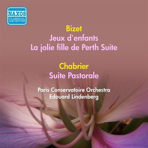 Bizet, G.: Jeux D'Enfants / La Jolie Fille De Perth Suite / Chabrier, E.: Suite Pastorale (Paris Conservatoire Orchestra, Lindenberg) (1953) by Edouard Lindenberg