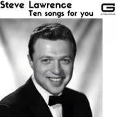 Ten songs for you de Steve Lawrence