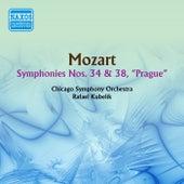 Mozart: Symphonies Nos. 34 and 38 de Rafael Kubelik