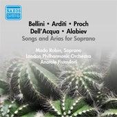 Vocal Recital: Robin, Mado - Bellini, V. / Arditi, L. / Proch, H. / Dell'Acqua, E. / Alabiev, A. (1956) by Mado Robin