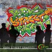 York Street Graffiti by Ciúnas