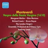 Monteverdi: Vespro della Beata Vergine (1952-1953) by Margaret Ritchie