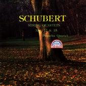 Schubert: String Quartets Nos 12 & 15 by Panocha Quartet