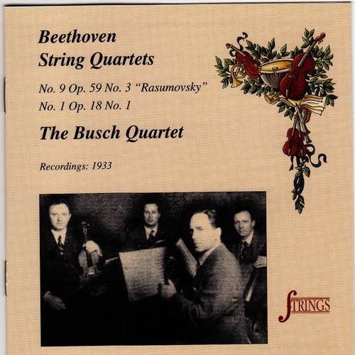 Beethoven: String Quartet No. 1 in F & No. 9 in C