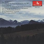 Bruch: Concerto for 2 Pianos & Orchestra, Op. 88a - Milhaud: Concerto for 2 Pianos & Orchestra - Scaramouche de Various Artists