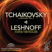 Tchaikovsky: Symphony No. 4 - Johnathan Leshnoff: Double Concerto for Clarinet & Bassoon (Live) von Pittsburgh Symphony Orchestra