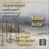 Russian Recital: Rimsky-Korsakov, Borodine & Mussorgsky de André Cluytens