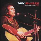 Greatest Hits Live! de Don McLean