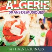 Algérie, 50 ans de musiques, 54 titres originaux by Dahman Ben Achour