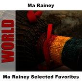 Ma Rainey Selected Favorites de Ma Rainey