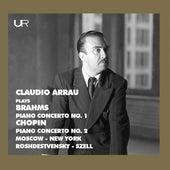 Brahms & Chopin: Piano Concertos (Live) von Claudio Arrau
