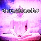 40 Homework Background Auras de Zen Meditation and Natural White Noise and New Age Deep Massage