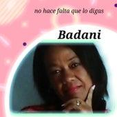 No hace falta que lo digas de Badani