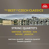 The Best of Czech Classics - String Quartets / Smetana / Dvořák / Janáček de Various Artists