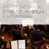 Symphonies from Strauss, Respighi & Stravinskij von Boston Symphony Orchestra