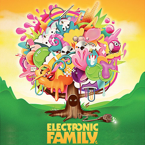 Electronic Family - The Compilation by Various Artists