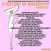 A Musical History of Broadway Musicals, Volume 1 de Various Artists