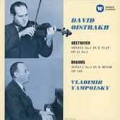 Beethoven: Violin Sonata No. 3, Op. 12 No. 3 - Brahms: Violin Sonata No. 3, Op. 108 by David Oistrakh