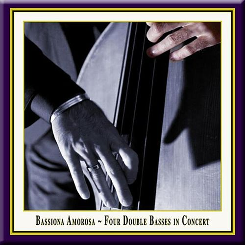 Four Double Basses in Concert by Various Artists