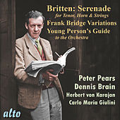 Britten: Serenade, Frank Bridge Variations, Young Presin's Guide van Various Artists