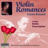 ROSAND: Aaron Rosand Plays Violin Romances & Heifetz Transcriptions de Aaron Rosand