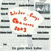 Lieder, Songs & Chansons 2003 de Various Artists