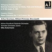 Wolfgang Amadeus Mozart : Sinfonia Concertante for Violin, Viola and Orchestra In E Flat Major, K 364 - Frédéric Chopin : Piano Concerto No. 1 In E Minor, Op. 11 by Various Artists