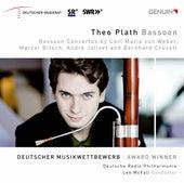 Weber, Bitsch. Jolivet & Crussell: Bassoon Concertos de Theo Plath