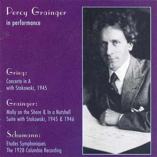 Grieg: Piano Concerto in A Minor / Grainger: Molly On the Shore / in A Nutshell / Schumann, R.: 3 Romanzen / Etudes Symphoniques (Grainger) (1928-46) by Percy Grainger