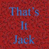 That's It Jack de Brian Williams