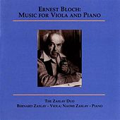 Bloch: Music for Viola and Piano (Zaslav Duo) de Various Artists