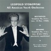 Beethoven: Symphony No. 5 / Brahms: Symphony No. 1 (Stokowski) (1940, 1941) de Leopold Stokowski