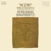 Mozart: Piano Concertos Nos. 18 & 19 by Peter Serkin
