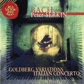 Bach: Goldberg Variations & Italian Concerto de Peter Serkin