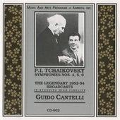 Tchaikovsky: Symphonies Nos. 4-6 von Guido Cantelli